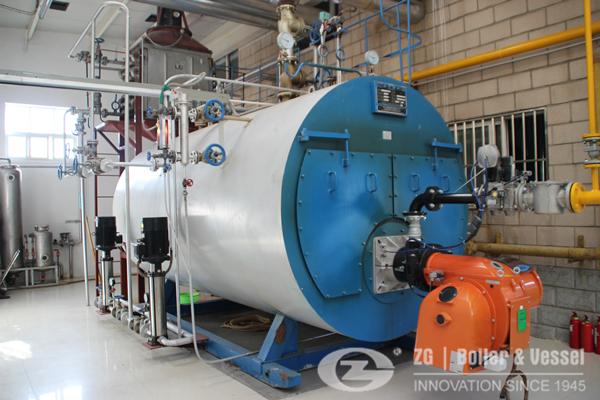 oil fired water tube boiler